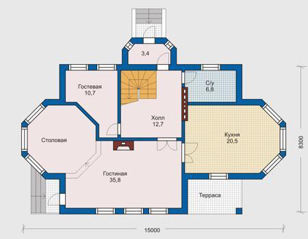 Строительство дома чертежи проект