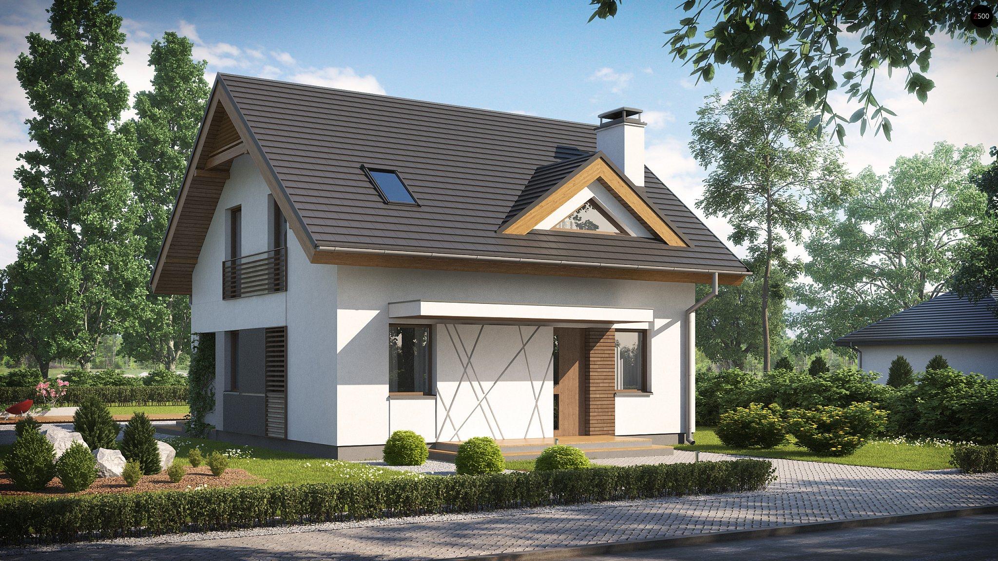 Построить дом с мансардой проекты