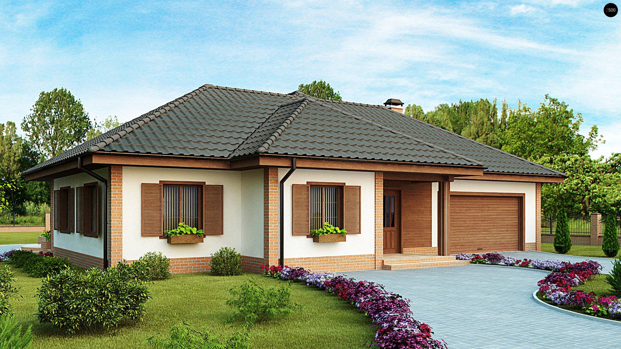 Красивые крыши домов фото