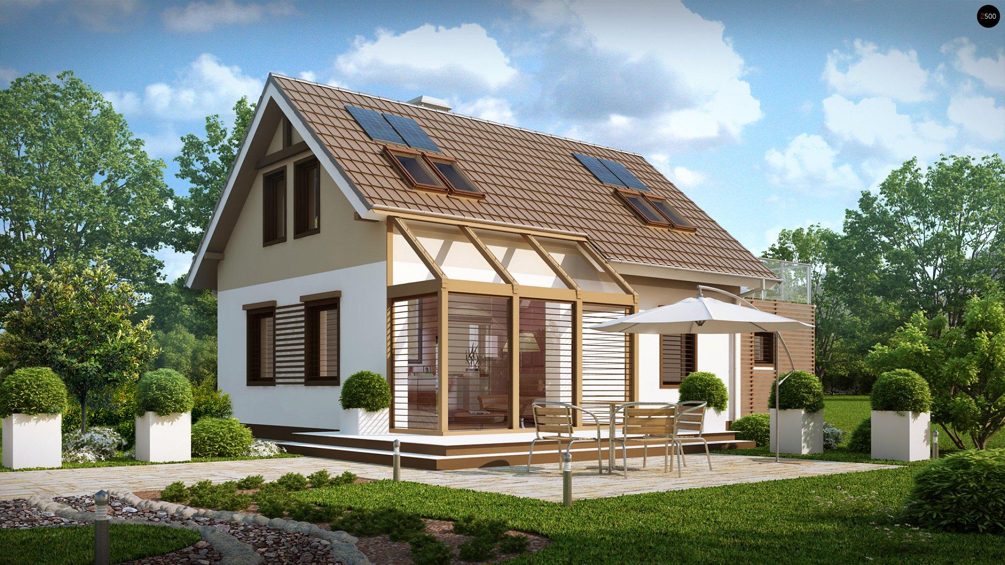 проекты домов и коттеджей с террасой выпить большое