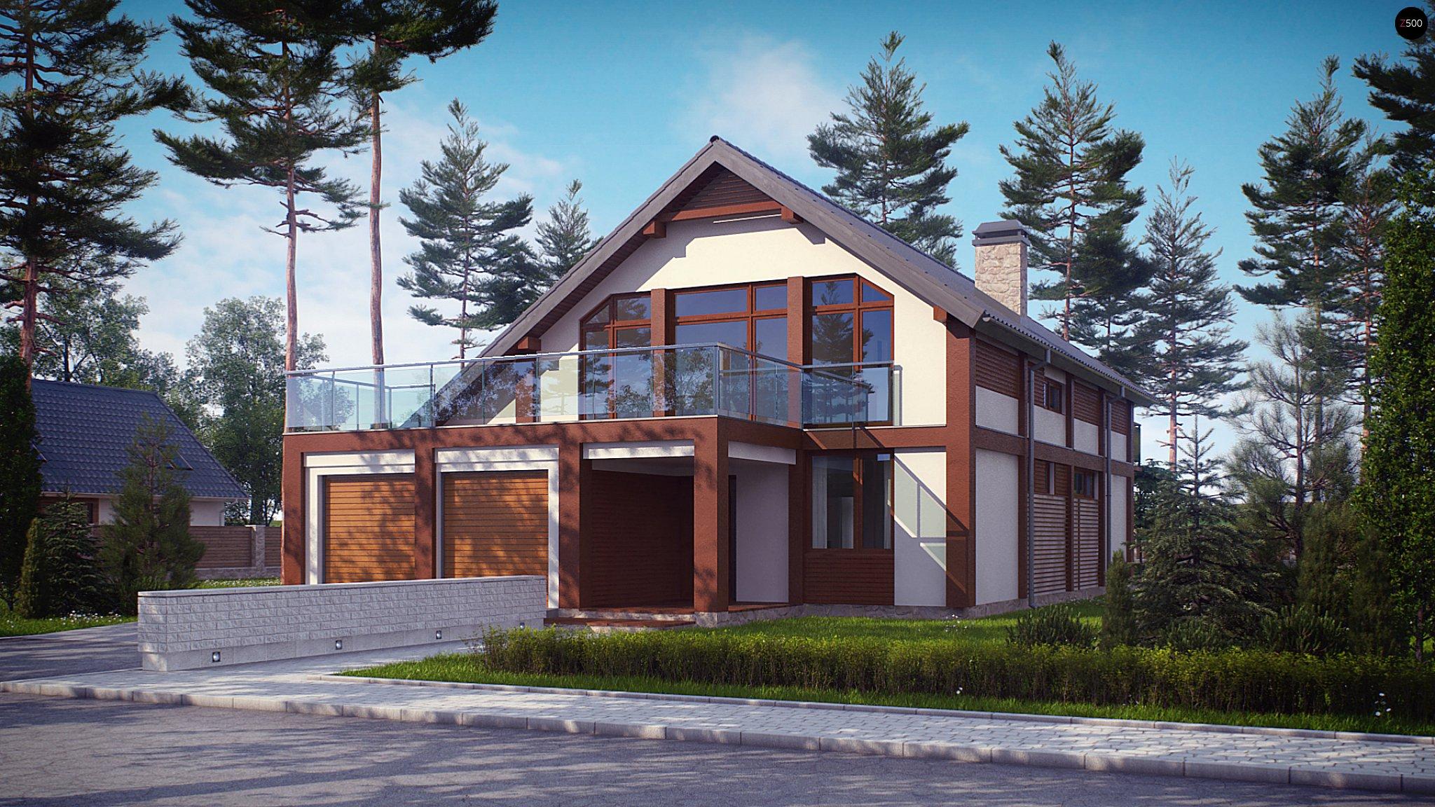 Дом с террасой над гаражом 205,7 кв.м..