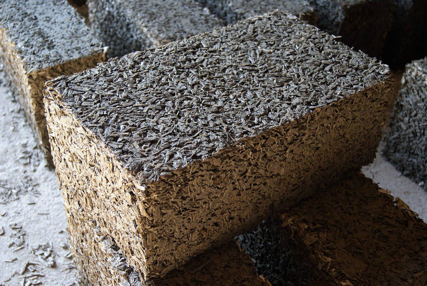 прессованные блоки для строительства