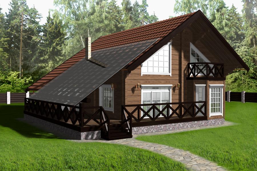 скандинавские дома проекты