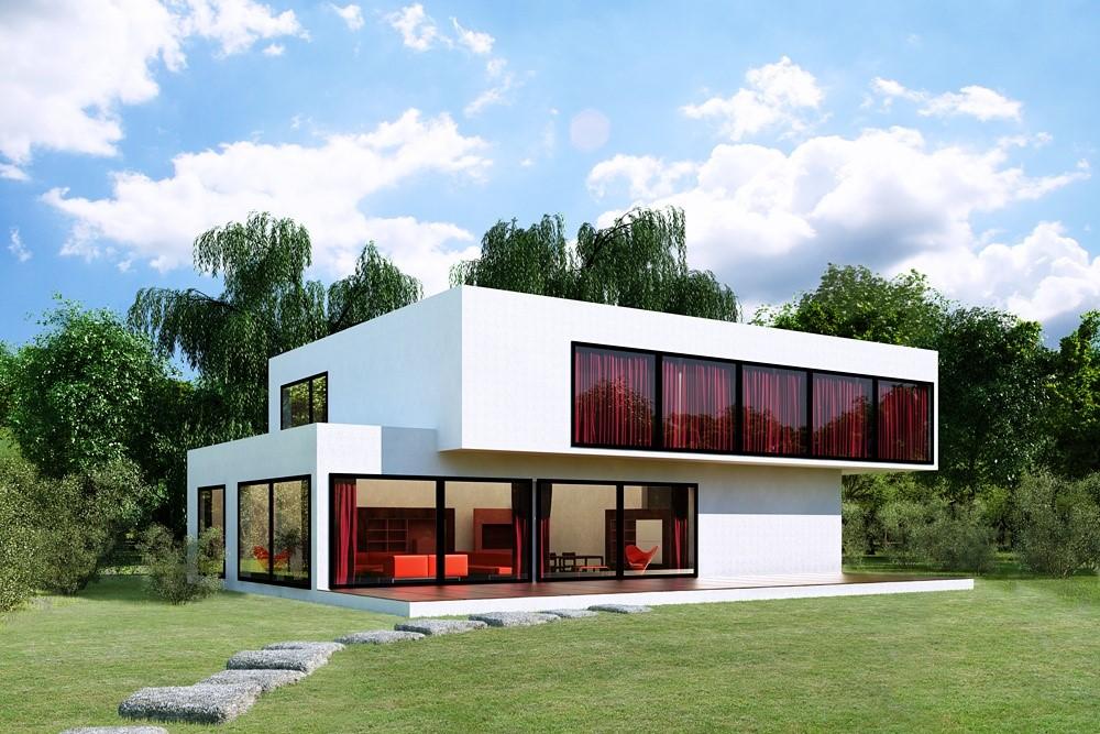 Строительство и проектирование домов в стиле модерн