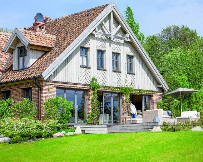 дом в стиле прованс фото