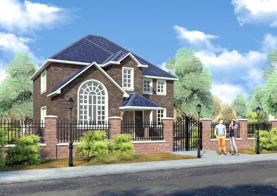 Проекты домов, коттеджей с гаражом