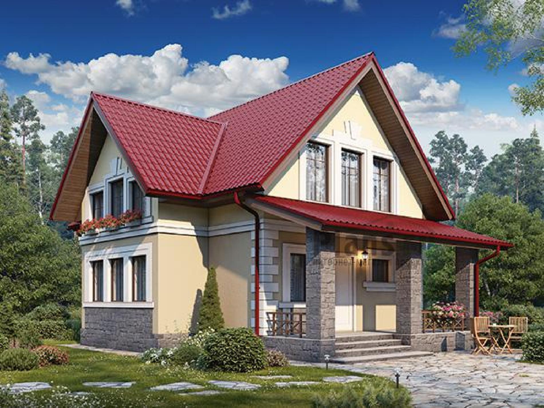 Дом двухэтажный 110 кв.м.