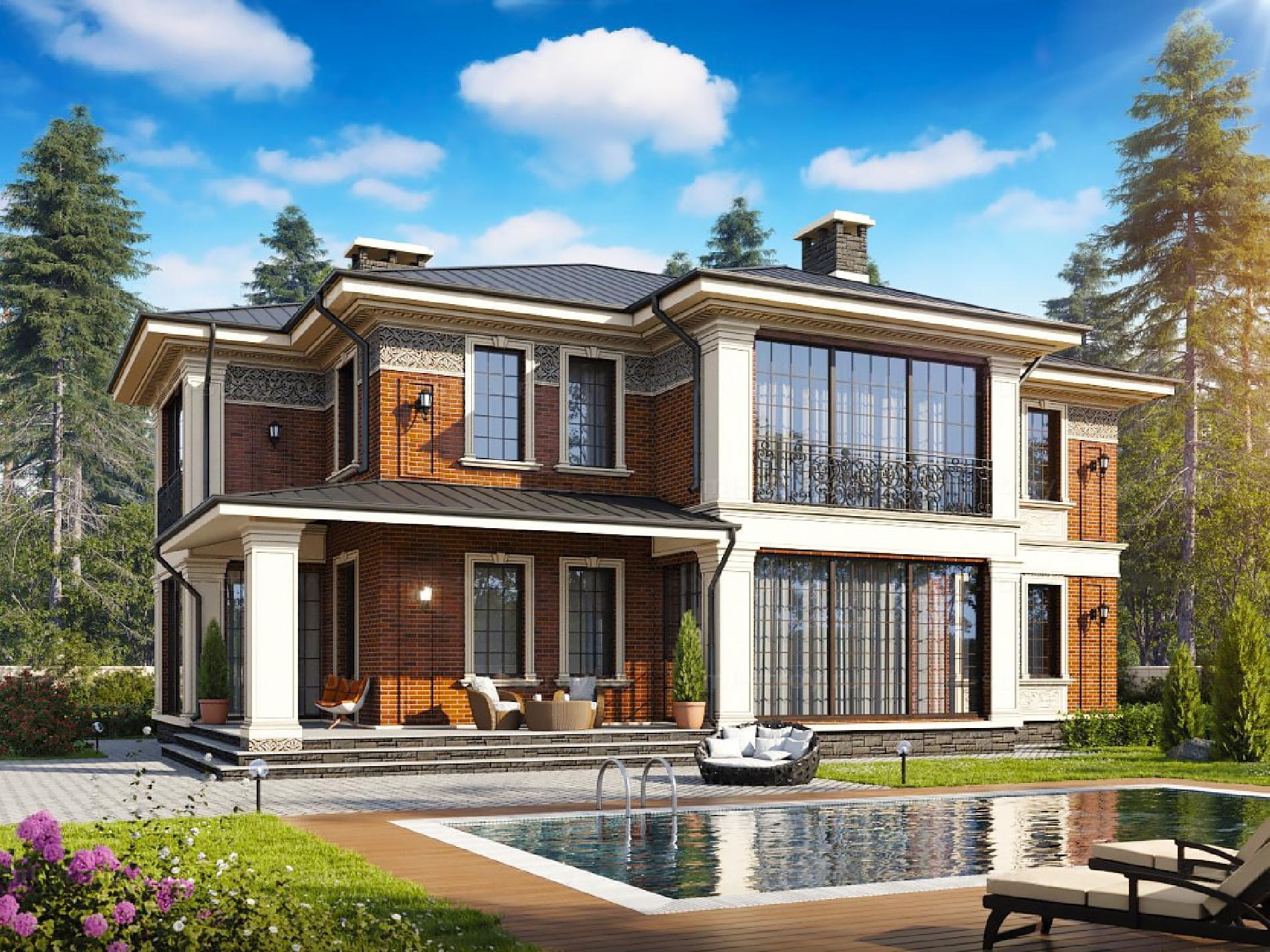 Дом в современном стиле 2019