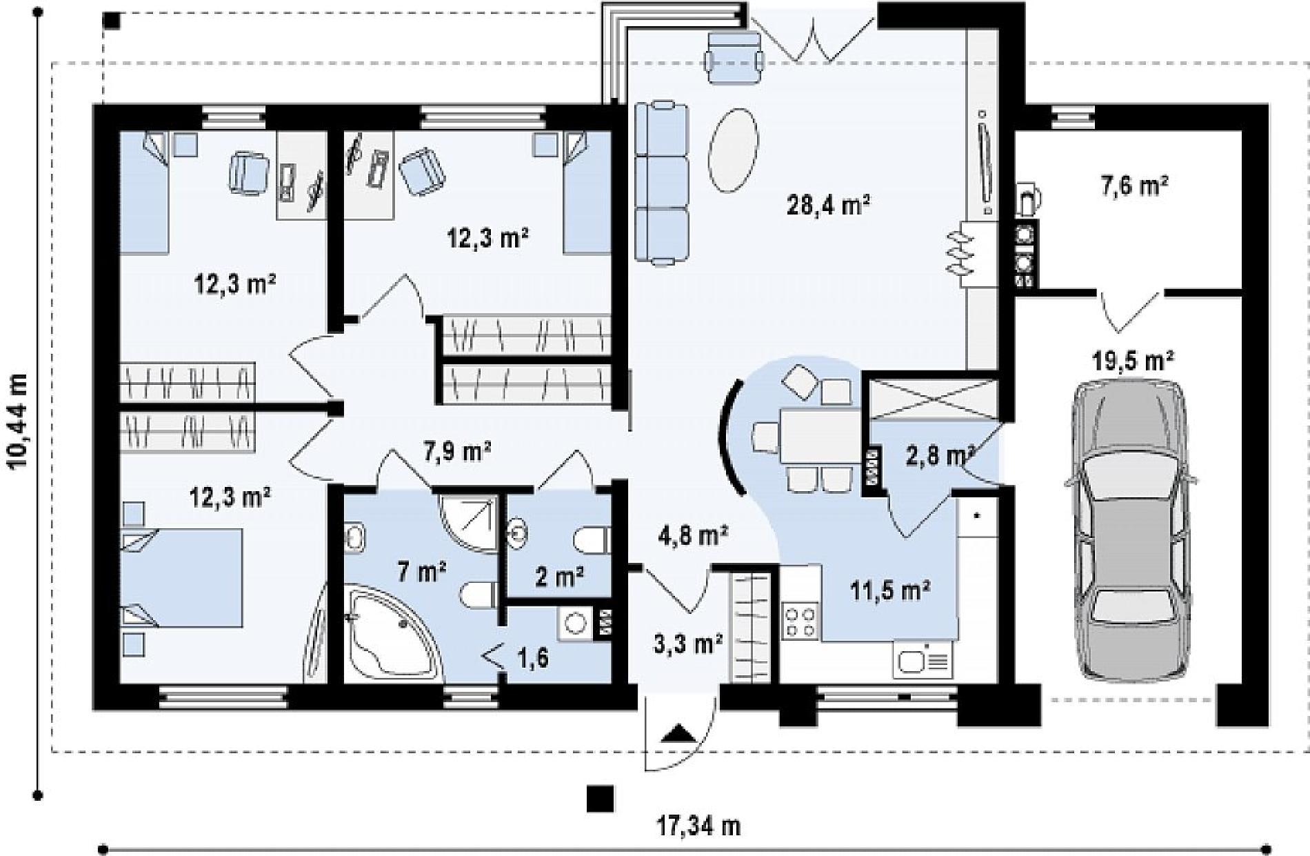 дом за 4 000 000 рублей