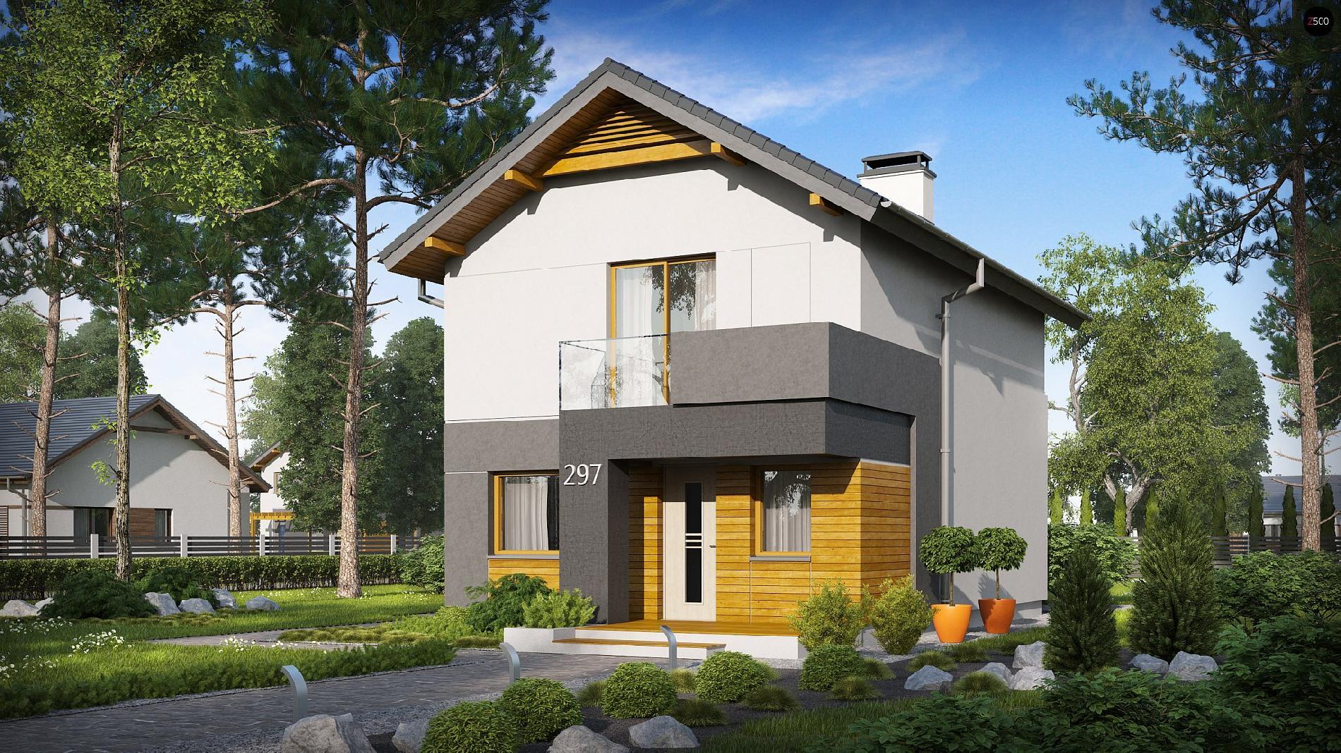 """Двухэтажный дом с большим хозяйственным помещением - ооо """"кр."""