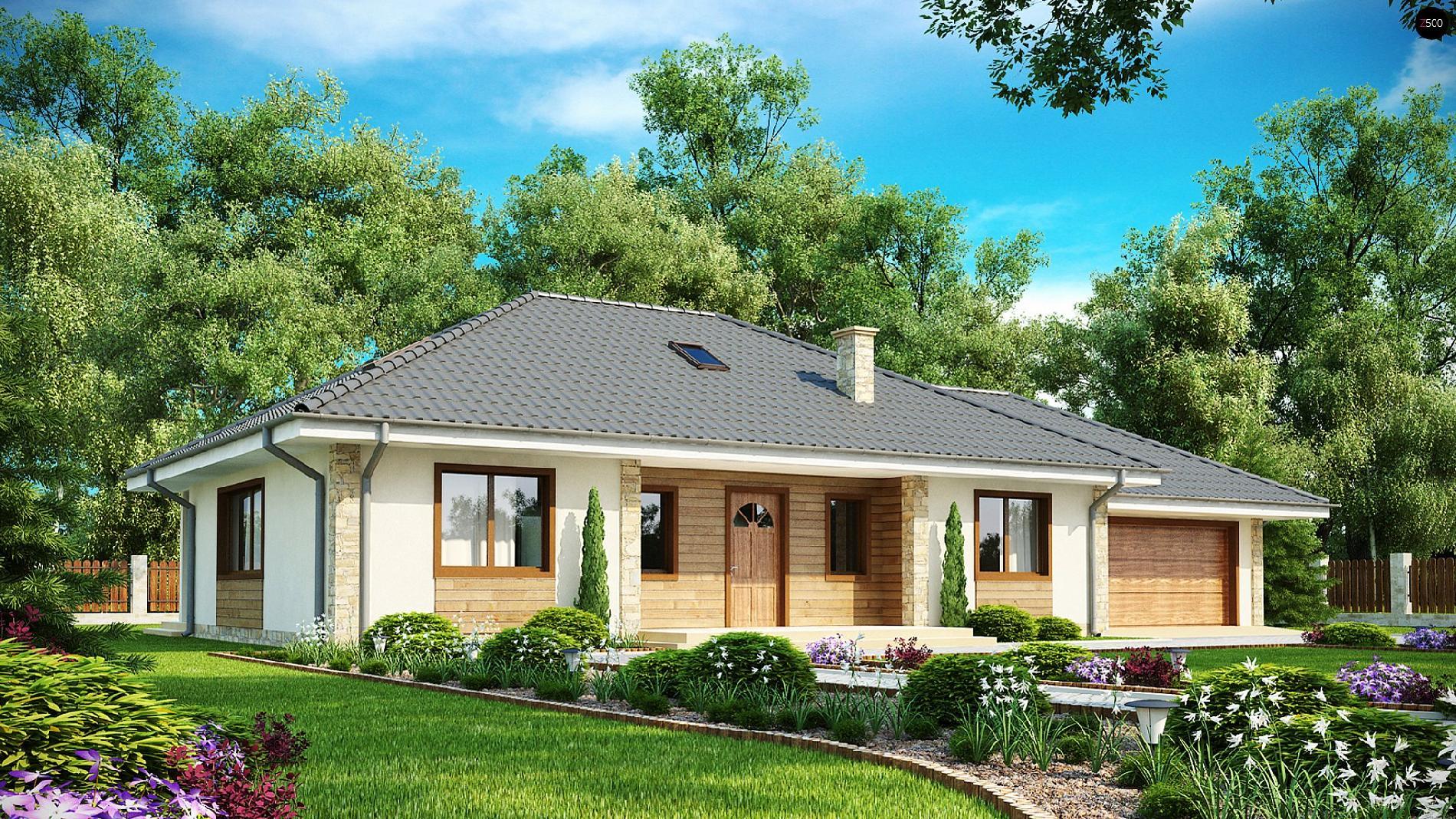 Проекты домов в европейском стиле