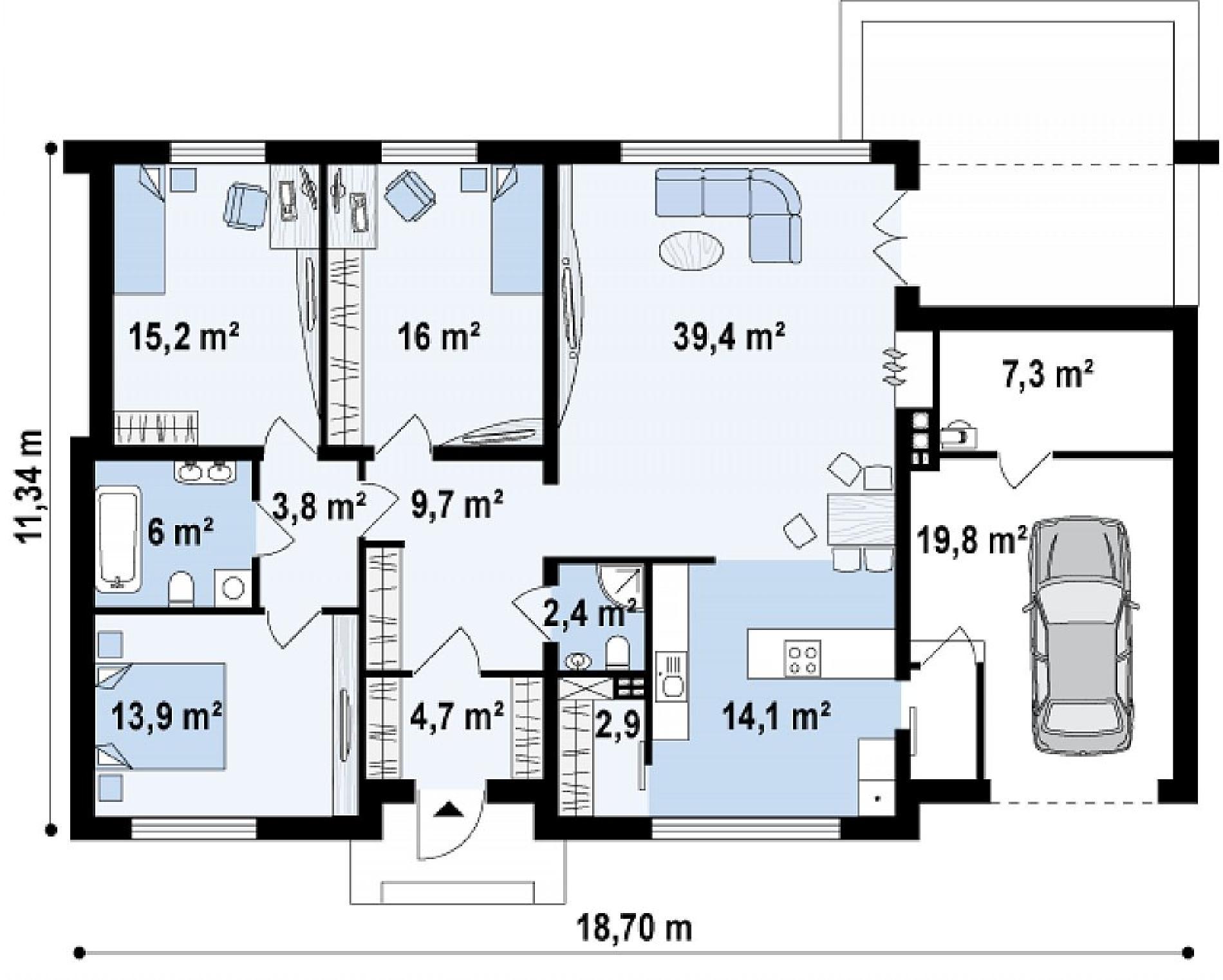 дом за 2 500 000 рублей