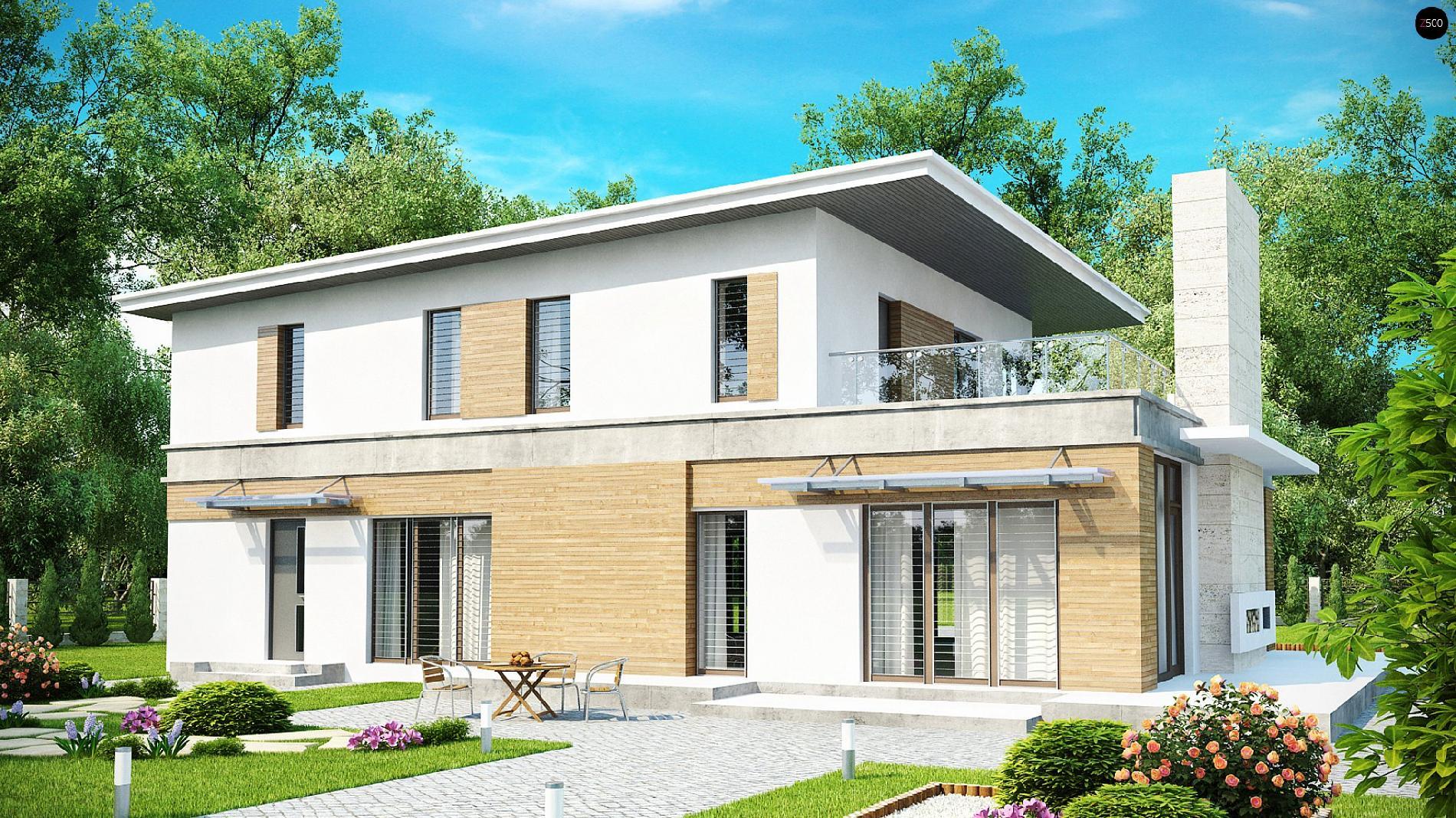 Проект zx21: двуэтажные кирпич/блоки, площадь - 243.7 м2 гот.
