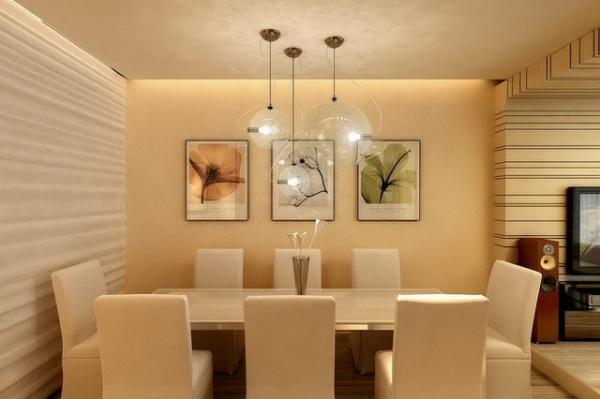 Дизайн маленькой гостиной столовой